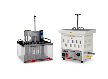 Anton Paar – Laboratorio – Varias propiedades del petróleo